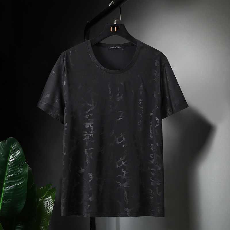 큰 크기 남자 티셔츠 짧은 소매 여름 플러스 크기 티셔츠 코 튼 홈 Tshirt 탑 캐주얼 인쇄 된 T 셔츠 9XL 10XL 160KG