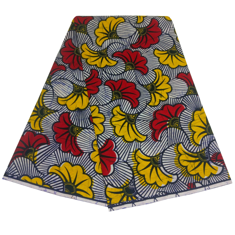 High Quality African Fabric Bazin Wax Print Fabric Ankara Fabric 100% Cotton DAMASK African Bazin Fabric For Dress 6yards