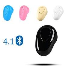 Mini kablosuz Bluetooth kulaklık spor Mic ile Handsfree kulaklık kulak tomurcukları telefonu 11 Samsung için Huawei için android