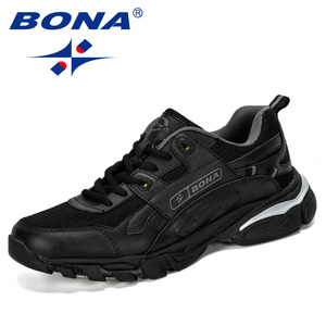 Image 5 - BONA New Designers Male Sneakers Running Shoes Mens Sport Shoes Outdoor Athletic Krasovki Tennis Shoes Man Jogging Shoes