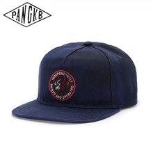 PANGKB marca independientemente de Otoño de invierno gorra de béisbol azul adulto gorro hip hop casuales al aire libre gorra de béisbol para el sol