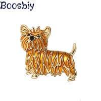 Boosbiy-broche de León de Oro Vintage para hombre y mujer, broches Harajuku, solapa, broche tipo pin, accesorios de joyería baratos para hombre y mujer