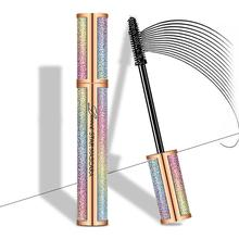 4D Silk Fiber Eyelash best waterproof Mascara  For Eye make up Extension BlackLengthening  Makeup Cosmetic quick lash extensions