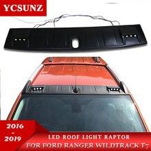 Светодиодные панели крыша светильник Raptor Стиль крыши аксессуары для FORD RANGER Wildtrack T7