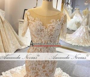 Image 2 - 2019 בת ים חתונת שמלת לקוחות להזמין צבע חוף סגנון כלה שמלה