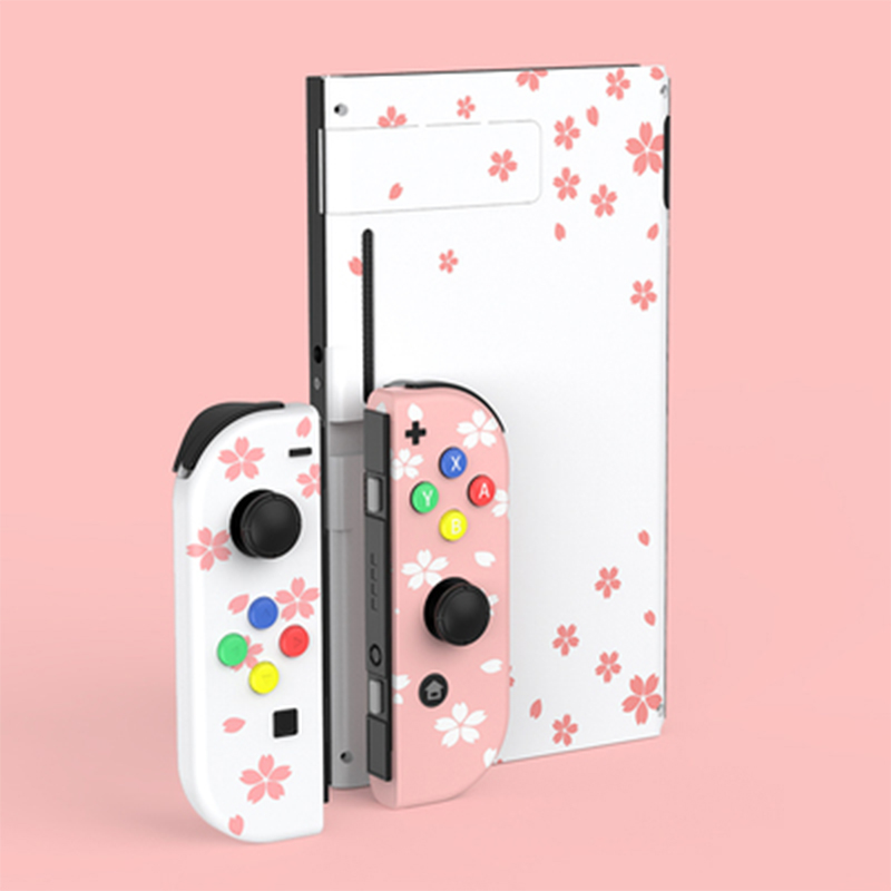 For Joycon Shell Case Nintend Switch NS Controller Joy-Con Cherry Fresh Replacement Protection Cases for Nintend Switch