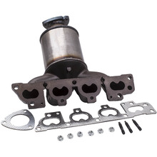 Katalizator przód 321710 dla opla Corsa C 2000-2016 1 4 13105075 13106575 13106576 dla Astra G Zafira Vectra B 1 6 16V tanie tanio 13105075 13106575 13106576 iron Package Included Just like the picture Professional installation required No Instruction Included