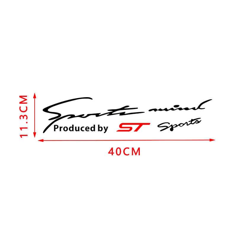 Araba vinil spor yarış çıkartması yansıtıcı lambası kaş Sticker Ford ST odak 2 3 4 MK2 MK3 Fiesta Mondeo kaçış Kuga EcoSport