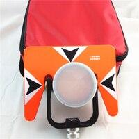 Novo todo o prisma de metal para nikon topcon sokkia estações totais prisma conjunto com saco-30/0mm de alta qualidade