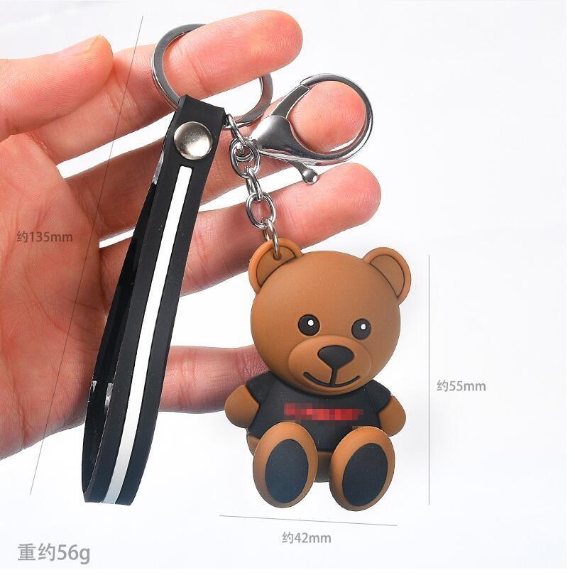小熊卡通钥匙扣7