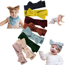 Baby Headband Bows Headband Newborn Hair Accessories Elastic Baby Hair Band Turban For Litle Girl Headbands Children