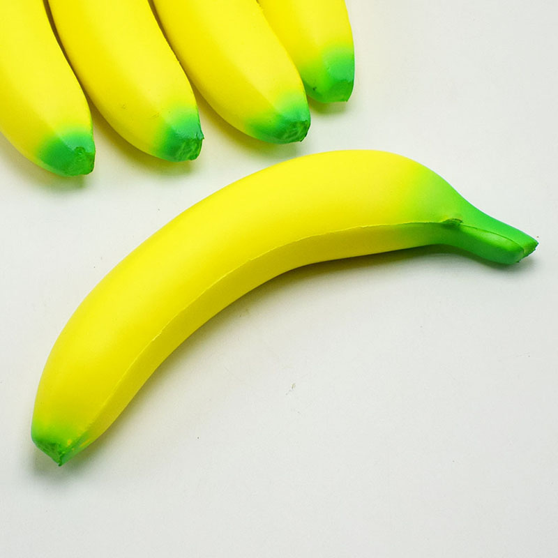 Squeeze Toy Banana-Toys Fruit Jumbo Squishy Stress-Reliever Anti-Stress Slow Rising Funny img3