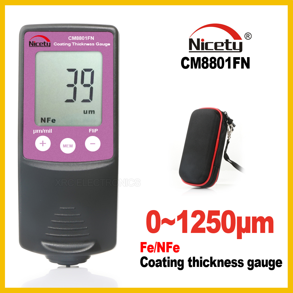 Nicety Digital Thickness Gauge Width Measuring Instruments Thickness Gauges Paint Film Coating Tester Thickness gauge