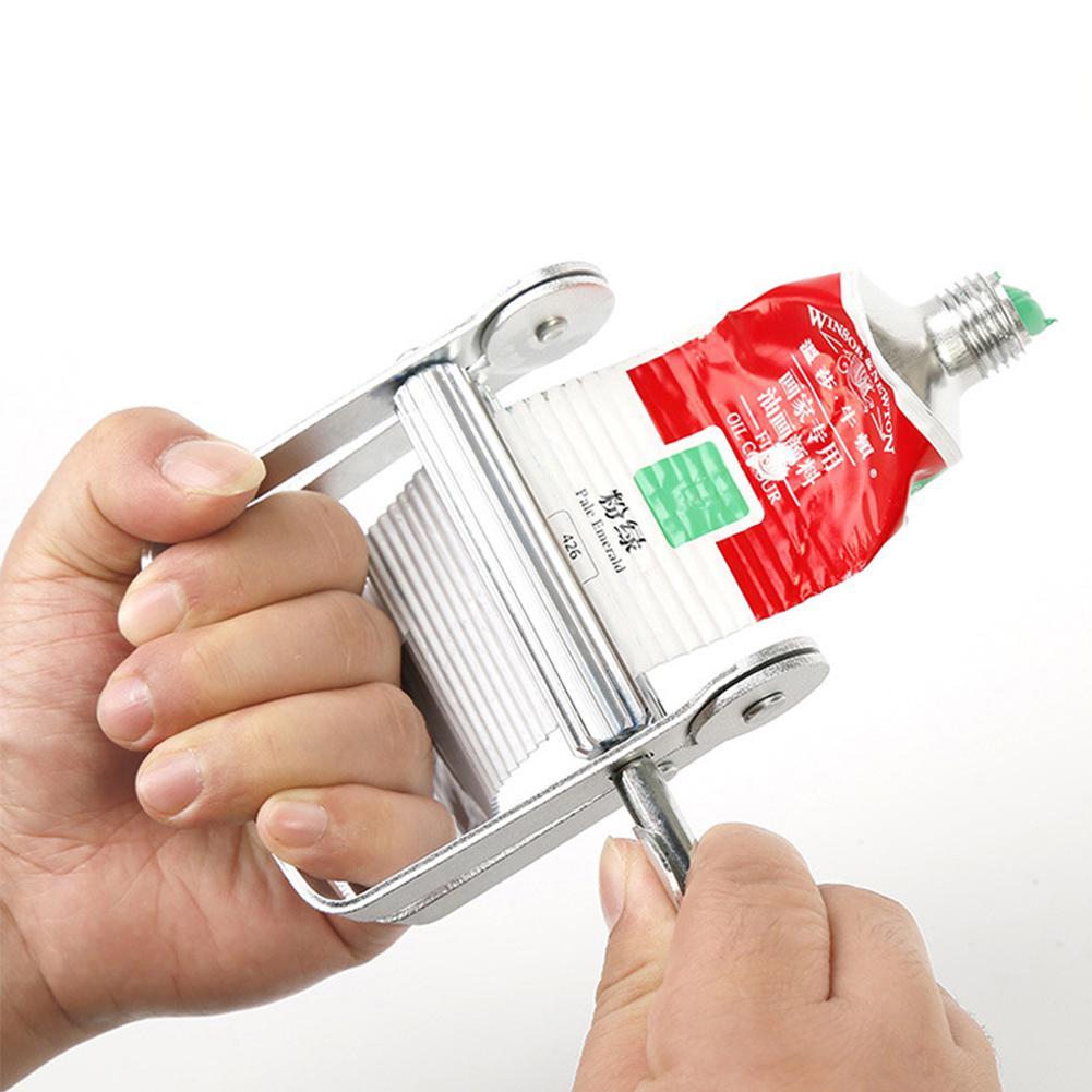 Товары для рукоделия масло выжиматель тюбика с краской r25 практичный инструмент масло выжиматель тюбика с краской ручной Металл масло