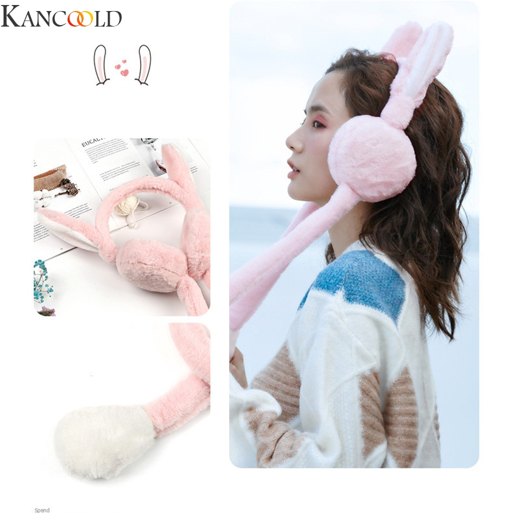 KANCOOLD Unisex Foldable Winter Earmuffs Winter Windproof Ear Warmer Moving Earmufuffs High Quality Christmas Gifts New Fashion