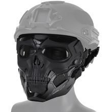 Face Scary Skull Shape Impact Resistant (Tactical) Headwear Protection Halloween Party Game Costumes Accessories 2020 New