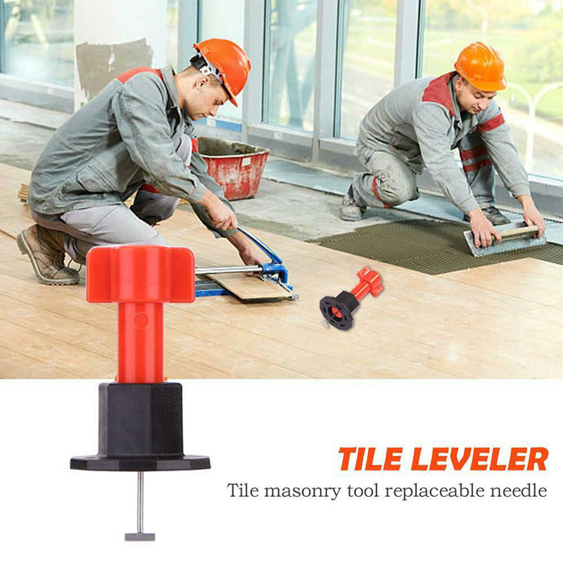 75 Pcs Reusable Anti-Lippage Tile Leveling System Locator Tool Ceramic Floor Wall DC156
