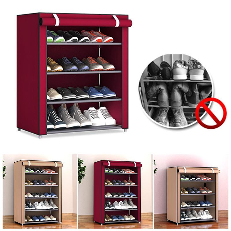Multi-Layer Shoe Rack Shoe Cabinet Shoe Shelf Home Organization Housekeeping Household Supplies Non-Woven Fabric Shoes Hanger