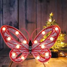 Butterfly Diamond Painting Light DIY LED 5D Modeling Lamp Embroidery Christmas Gifts