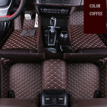 Tapis de sol de voiture en cuir pour Suzuki Jimny Grand Vitara Kizashi Swift SX4 Wagon R Palette Stingray | Styliste de voiture, sur mesure(China)