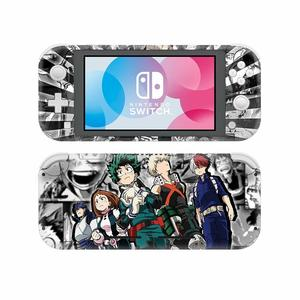 Image 5 - NintendoSwitch Skin Sticker My Hero Academia Decal Cover For Nintendo Switch Lite Protector Nintend Switch Lite Skin Sticker
