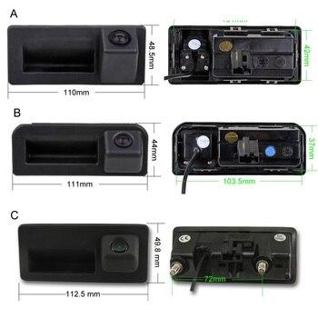 SINOSMART CanBus Reversing Dynamic Trajectory Parking Camera for Skoda Octavia Volkswagen Tiguan 187B 280 MQB PQ Audi A5 Q5 Q2