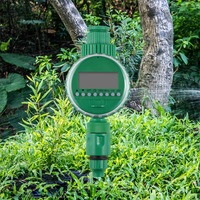 Automatic Digital LCD Electric Irrigation Timer Irrigation Controller Watering Programs Home Garden Lawn Water Timer|Garden Water Timers|   -