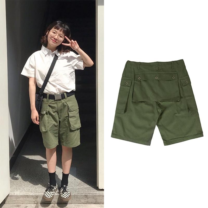2020ss Vintage P-44 HBT USN USMC WW2 Men Shorts Army Camouflage Clothing Military Summer Cotton Short Pants Cargo Plus Size