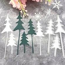 Рождественская елка металлические режущие штампы Трафаретный