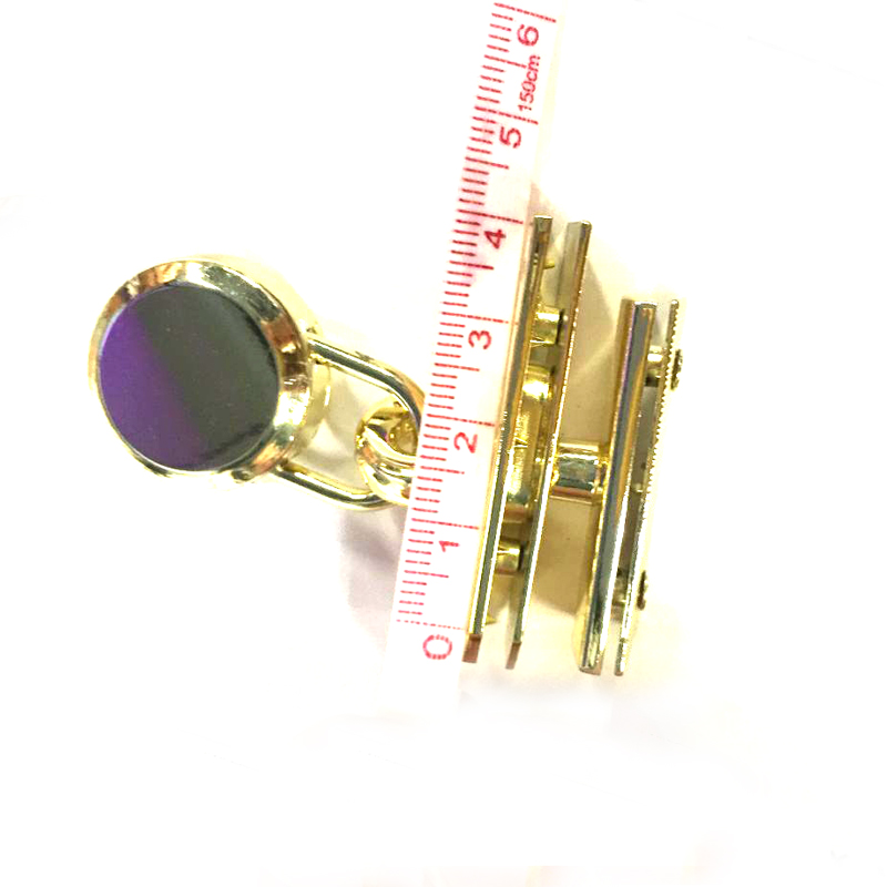 Metal Eyelets For Leather Craft Shoe Belt Bag Clothes Platinum Lock Handbag Purse Hardware 46.5*15mm