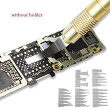 Couteau de réparation pour téléphones et ordinateurs sans support, multifonction 27 en 1 pour enlever la carte mère réparation de puces IC