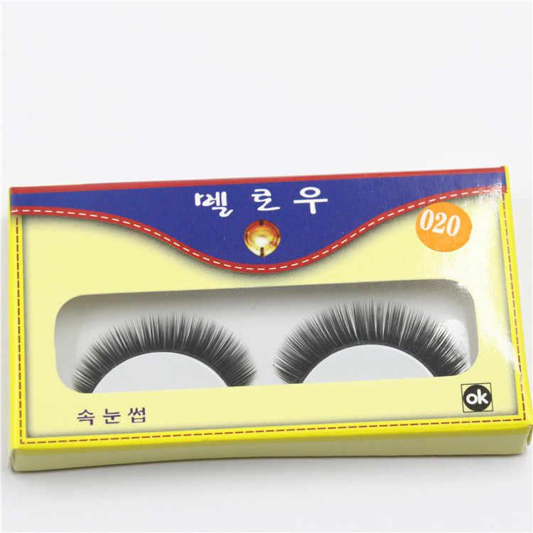 1 Pasang Seksi 3D Bulu Rambut Bulu Mata Palsu Korea Alami/Tebal Panjang Mata Bulu Mata Tipis Fashion Makeup Kecantikan Ekstensi alat H013