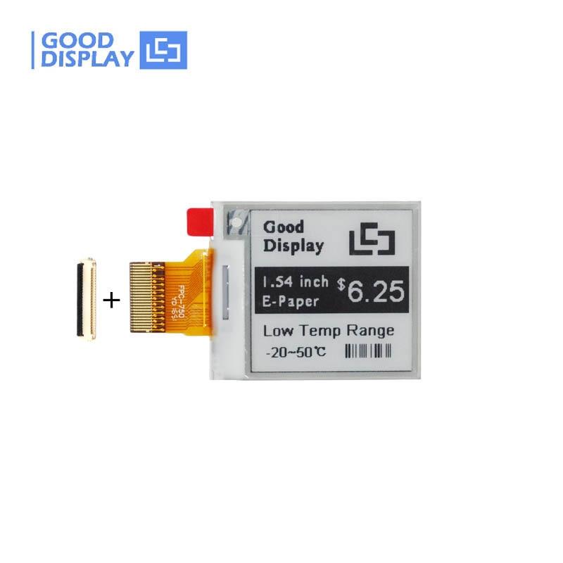 1.54 Inch Ultra Low Temperature E-paper Display GDEM0154E97LT