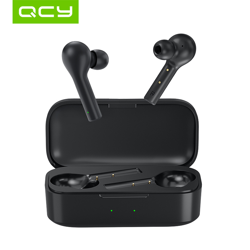 QCY T5 bluetooth 5 0 wireless earphones touch control