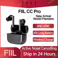 Nuovo arrivo FIIL CC Pro TWS auricolari Bluetooth 5.2 doppia cancellazione del rumore vero auricolare Wireless ricarica rapida cuffie ANC ENC