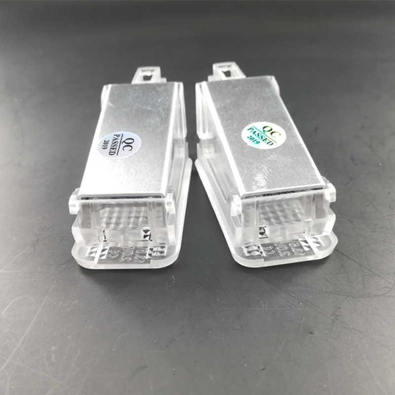 ไฟ LED ประตูมารยาทสำหรับ Porsche Trunk โคมไฟ Footwell 987 987-2 987C 987C2 997-2 997T t2 GT3-2 Skoda Fabia Roomster ที่ยอดเยี่ยม