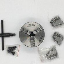 100 мм 4 дюйма 3 кулачковый самоцентрирующийся токарный станок патрон SANOU K11-100 металлические прокрутки патроны для сверлильного фрезерного станка