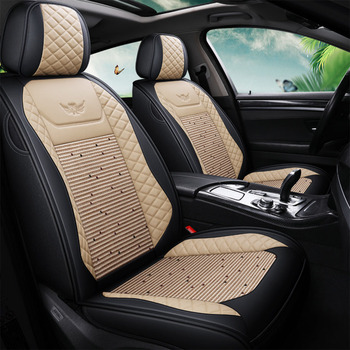 Universal Leather Car Seat Covers for Peugeot 301 307 sw 508 SW 308 206 4007 2008 5008 2010 3008 2012 107 206 Auto Accessories image