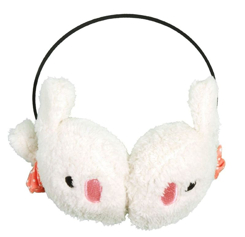 FFYY-Winter Cute Kawaii Bunny And Panda Earmuffs Ear Muff Warmer Various Colors
