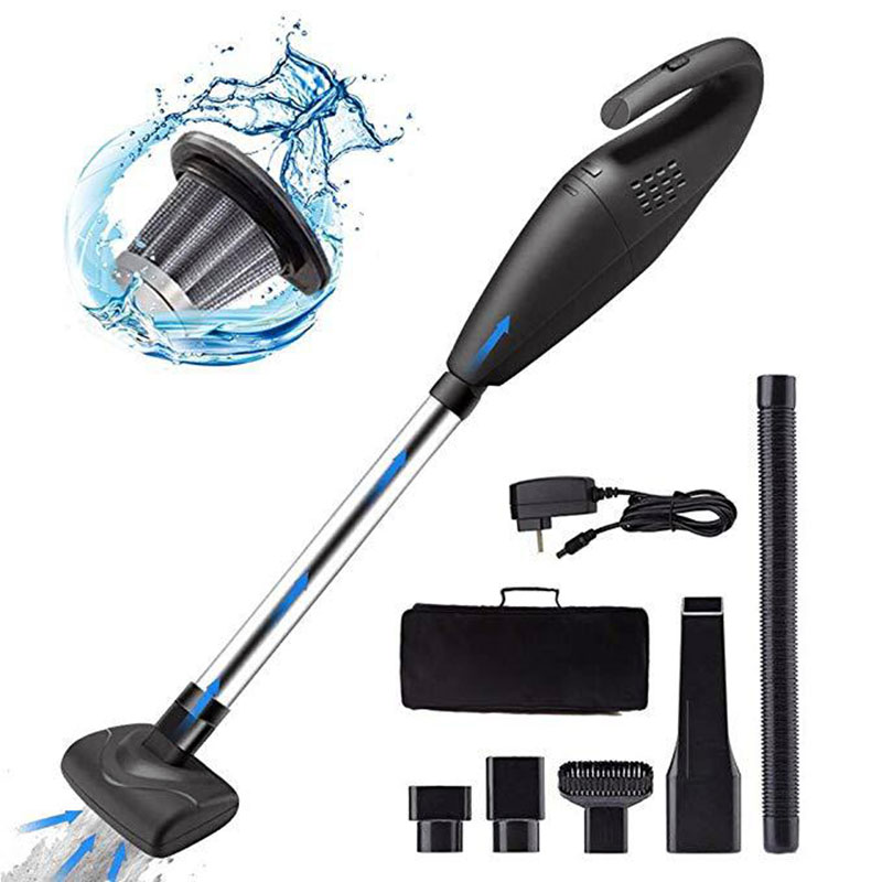 Portable 2 In 1 Handheld Wireless Vacuum Cleaner Cyclone FilterHandheld Wireless Home Car High Power Mini Dual-use Car
