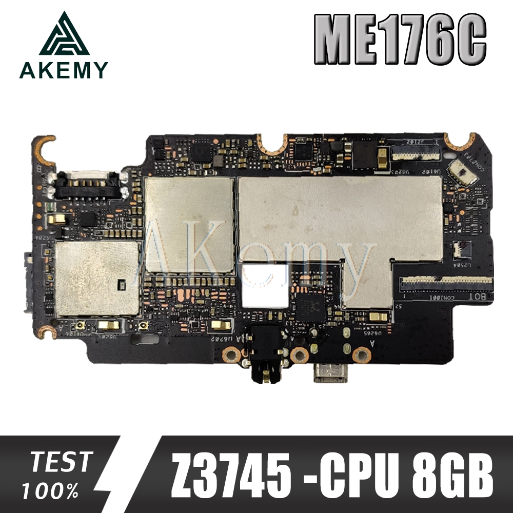 NEUE original Für ASUS MeMO Pad 7 ME176C ME176 Tabletten Laptop motherboard mianboard logic board W/Z3745-CPU 8GB