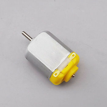 S.M.C Standard Micro 130 Carbon brush DC Motor 3V 5V 6V 19000RPM High Speed electric motor DIY RC Toy Car Boat image