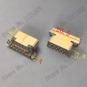 Image 2 - 5pcs/lot VGA Jack Connector D SUB 15P F R/A DIP for Lenovo Samsung HP Dell etc Laptop CRT Port