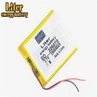 3.7v bateria de polímero de lítio 306070 036070 gps tela 2000mah livros manuscritos