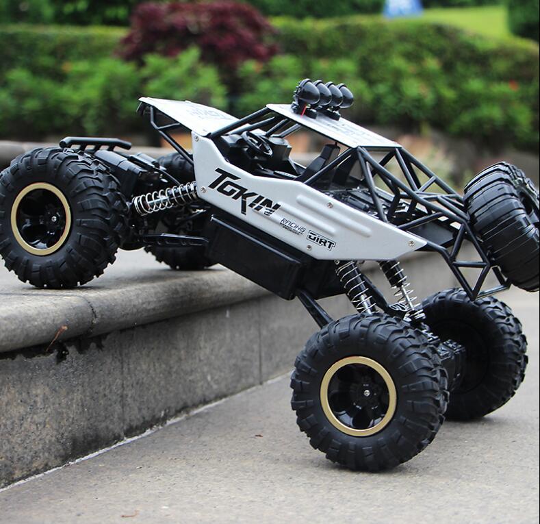 37 centimetri 1:12 RC Auto 4WD arrampicata Auto 4x4 Motori A Doppia Drive Bigfoot Auto Modello di Controllo Remoto di Sconto Road Del Veicolo giocattoli Per I Ragazzi I Bambini - 4