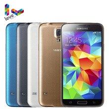 Samsung galaxy s5 i9600 g900f g900a desbloqueado telefone celular 5.1