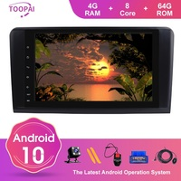 TOOPAI Android 10 For Mercedes Benz GL ML CLASS W164 X164 ML350 ML450 2005 2012 Auto Radio GPS Navigation Multimedia Player