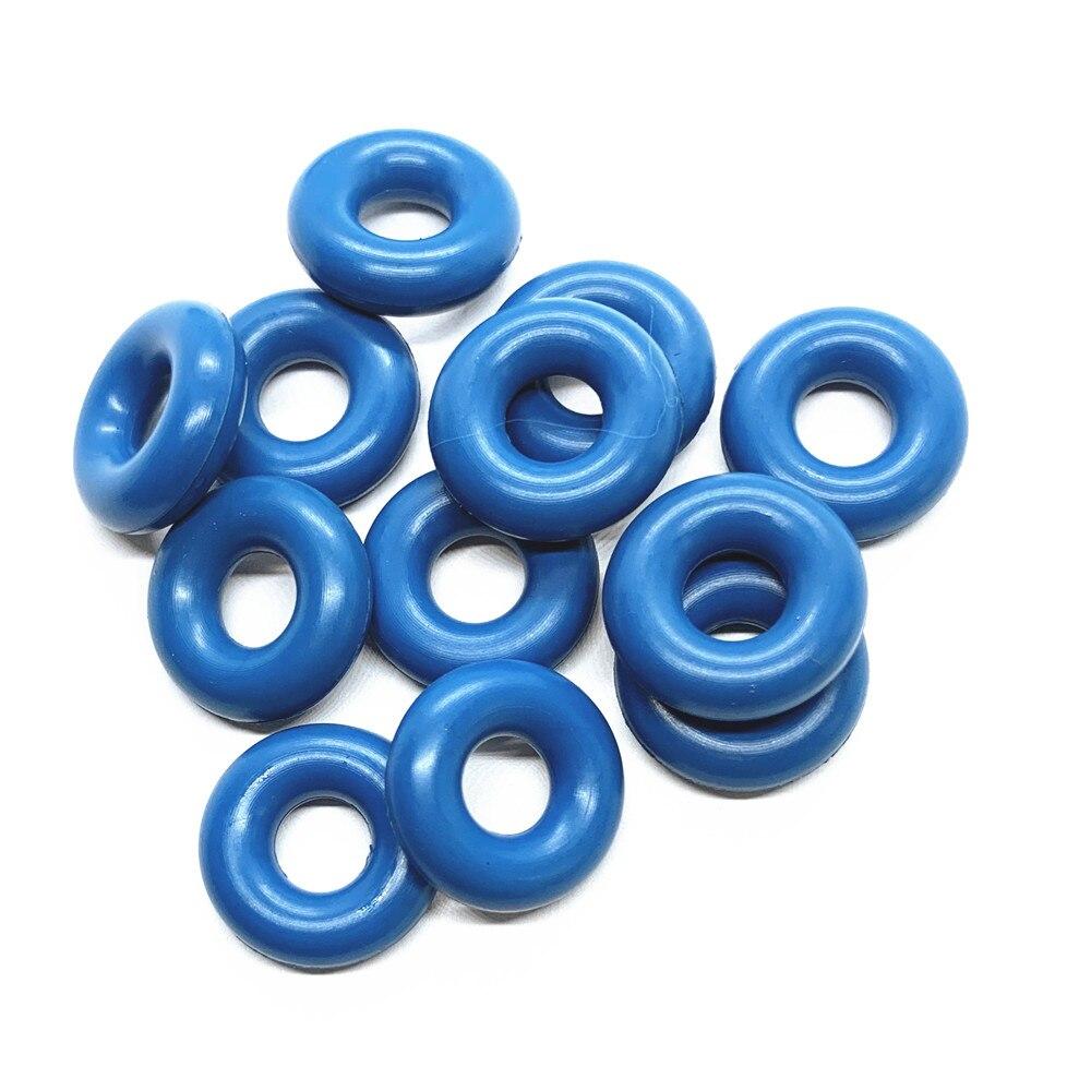 100pieces rubber oring upper seal for parts #E7T20171 L3K9  13 250A Mazda3/6/CX 7 2.3  (AY O2222)Fuel Injector   -