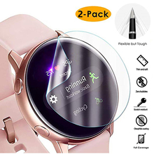 Ultra-thin Protection Film Screen Protector Cover for Samsung Watch Active 1 2 Serise Galaxy Soft 3D Round Edge Screen Protector cheap CN(Origin) Screen Protector Case Hydrogel Film 1SSB0075-2PCs