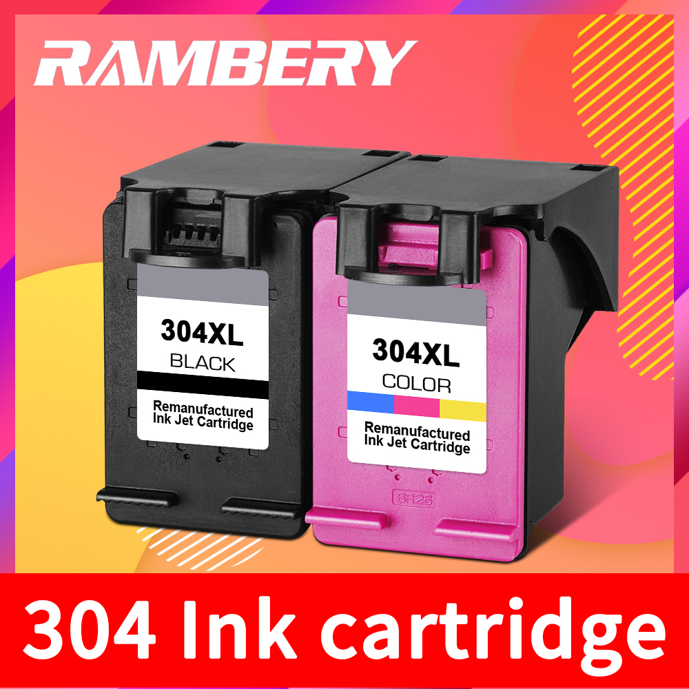 304 Ink Cartridge Replacement For HP 304 XL Cartridge 304XL For HP Deskjet 2620 2630 2632 5030 5020 5032 3720 5010 Printer